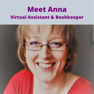 Momentum VA Meet Anna Virual Assistant and Bookkeeper