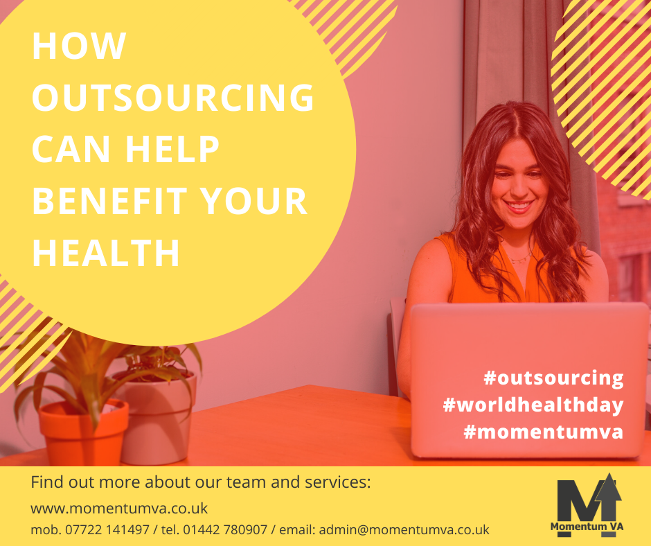 Outsourcing can benefit your health